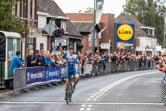 JV18082019 Terborg Ronde van de Achterhoek met winnaar Marco Doets van de Alecto ploeg/ Foto : Jan Ruland van den brink
