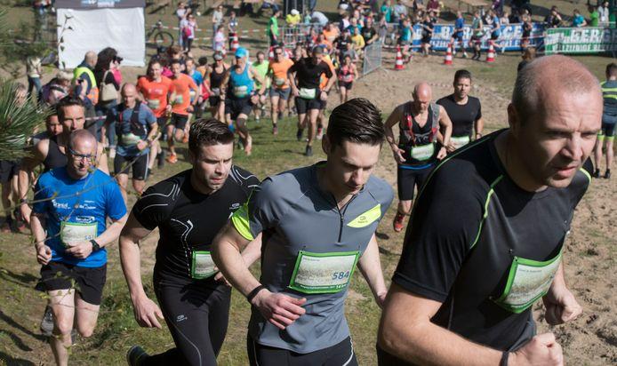 Een ander evenement van de Bergrace: de trailrun in Lunteren.