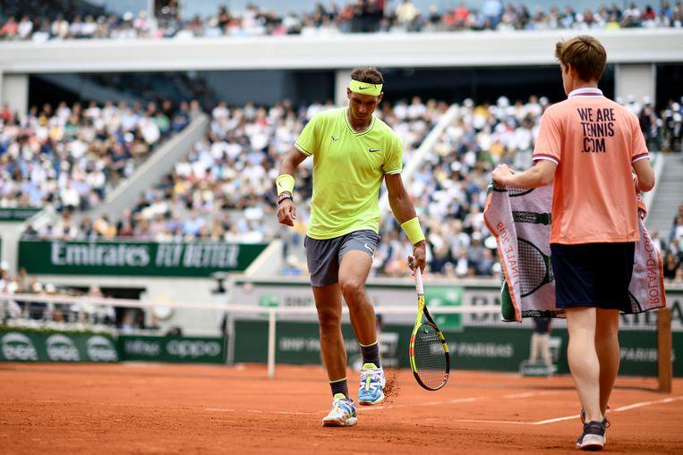 Roland Garros, 20 september - 4 oktober. Beeld AFP