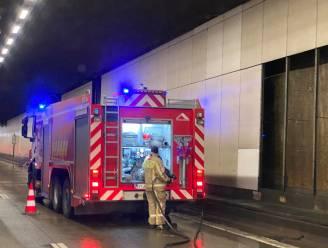 Even wateroverlast in Rupeltunnel richting Brussel, maar alles ondertussen opgeruimd