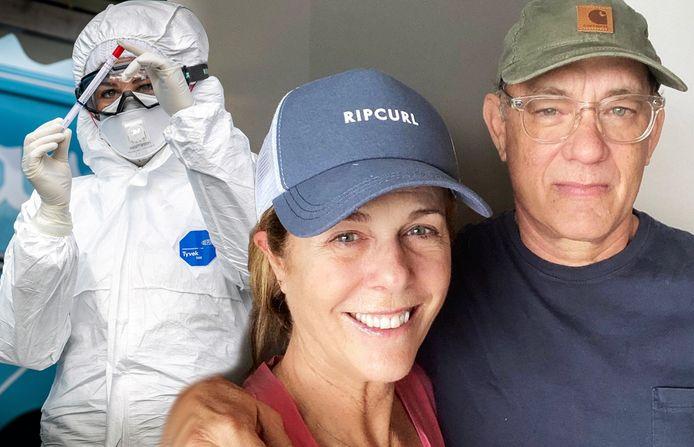Tom Hanks et sa femme Rita Wilson (tous deux âgés de 63 ans).
