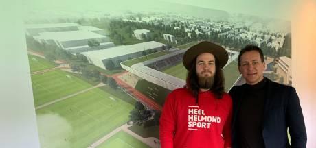 Dave Vermeulen verbindt zich als ambassadeur aan Helmond Sport: 'Zit genoeg muziek in de club'