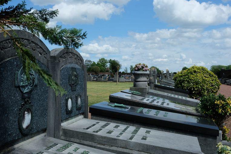 De begraafplaats in Zaventem.