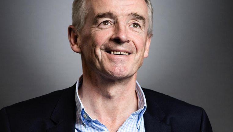 Michael O'Leary: 'Onze groei wordt beperkt door Schiphol, dat KLM wil helpen' Beeld getty