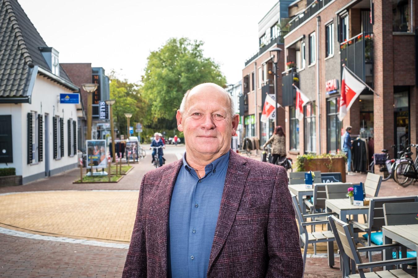 Hans Valent, voorzitter van Ondernemersvereniging Vaassen, baalt van het afketsen van de bedrijfsinvesteringszone in het dorp.