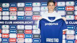 """Anderlecht haalt 16-jarige Arnstad naar Lotto Park: """"Speelstijl van deze club ongelofelijk aantrekkelijk"""""""