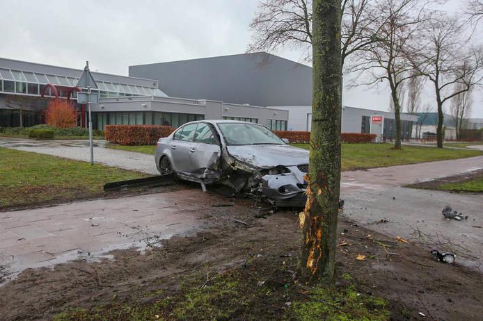 Ongeval in Helmond.