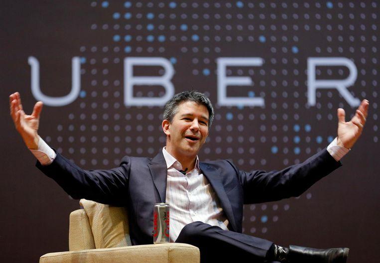 Uber-baas Travis Kalanick. Beeld reuters