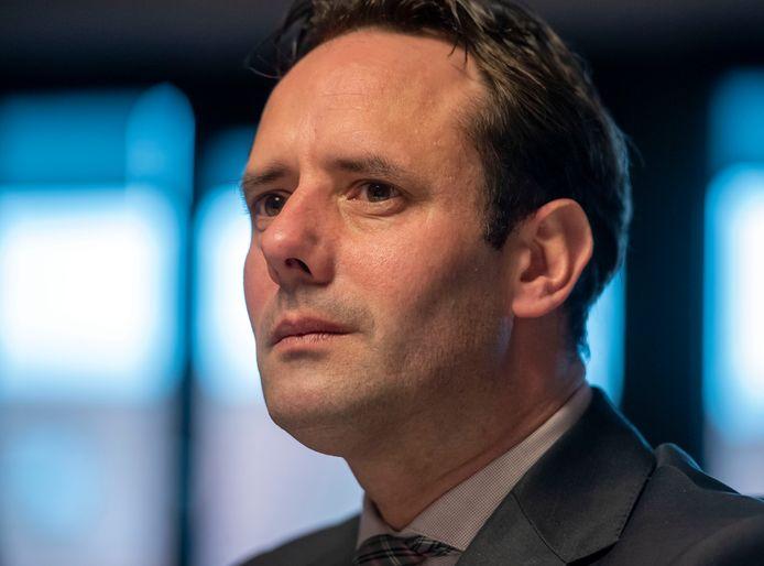 Burgemeester Harm-Jan van Schaik van Harderwijk.