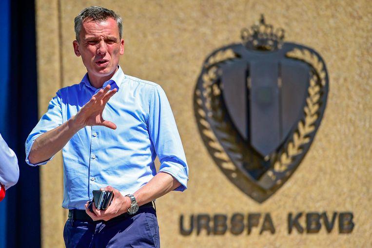 Scheidsrechtersbaas Johan Verbist.