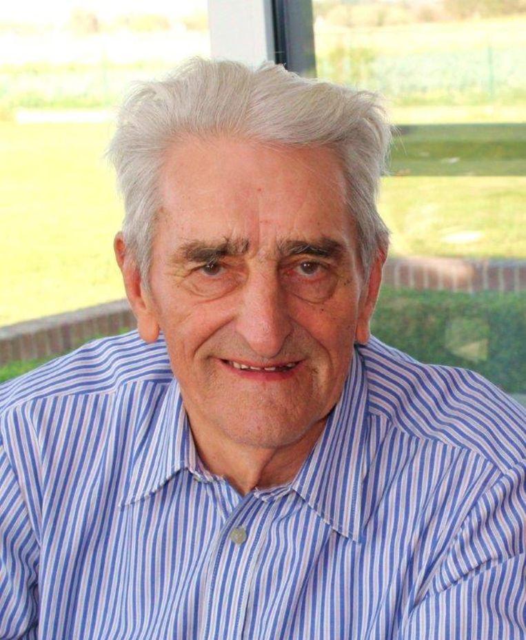 Marcel Ramon (87) werd op 18 maart opgenomen in het ziekenhuis met een zware longontsteking, nadat eerder zijn vrouw besmet raakte met Covid-19.