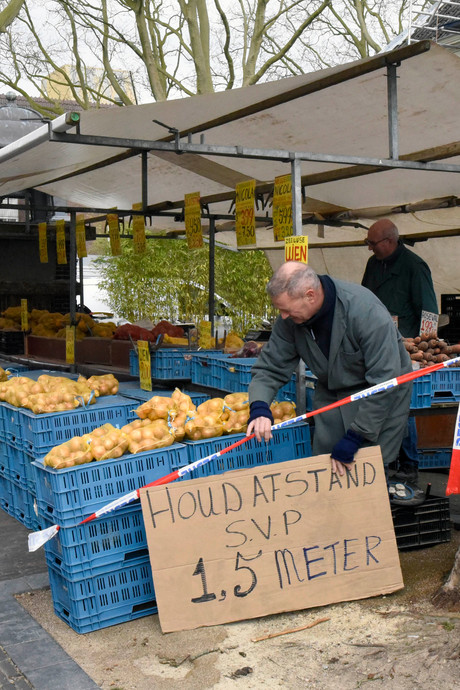 Blij dat de markt terug is in Woerden: 'Heel ander beeld dan hoe het was'