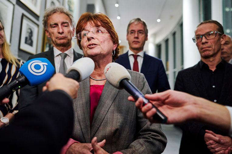 Liesbeth Verheggen treedt af als voorzitter van de AOb. Beeld ANP