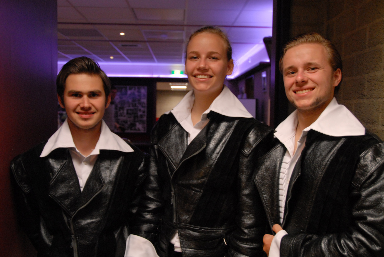 De Drie 'Van Maerlant' Musketiers: Davy Haagman, Marieke Leenheers en Thymen van Nuland.