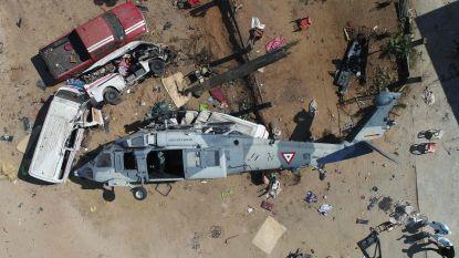 Helikopter die slachtoffers aardbeving wil bezoeken crasht: 13 doden