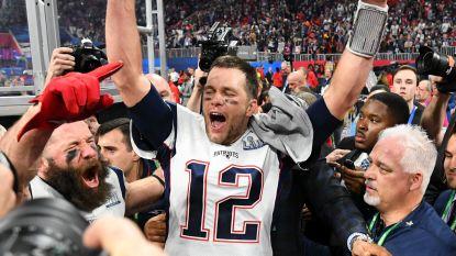 New England Patriots verslaan Los Angeles Rams met laagste score ooit en pakken zesde Super Bowl uit clubgeschiedenis, ook nieuw record voor Tom Brady
