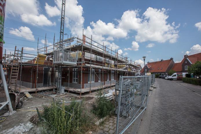 Nieuwbouw woningen aan de Besselhoeve in Helmond