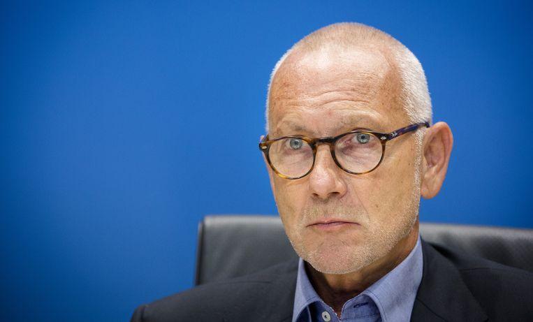 Erik Staal van Vestia moest verschijnen voor de Parlementaire Enquetecommissie Woningcorporaties. Beeld anp