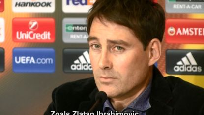 """""""Neen, we zijn niet bang van Zlatan"""", zegt Weiler tegen onze videoman"""