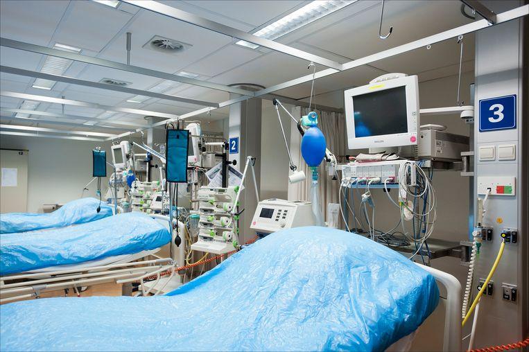 De intensive care in het Calamiteitenziekenhuis in Utrecht. Beeld ANP