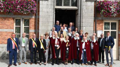 Viering kwarteeuw Commanderij Molenberg met stichters en ereleden