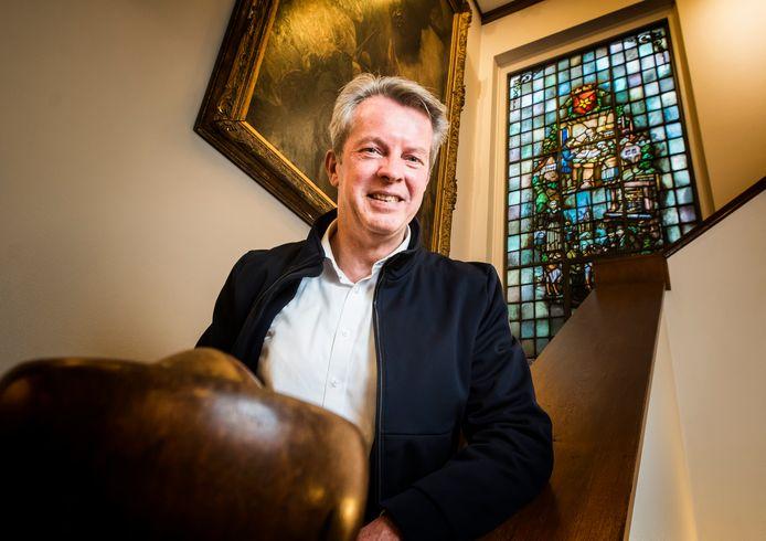 Waarnemend burgemeester Gerrit Jan Kok van Staphorst.