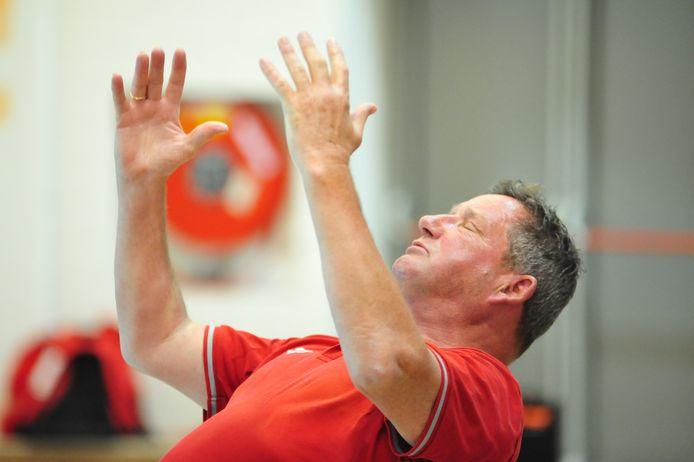 Ravijn-coach Jan Mensink zag zijn ploeg voor de tweede keer winnen