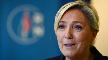 """Marine Le Pen verwelkomt """"echte grote overwinning"""" van haar partij"""