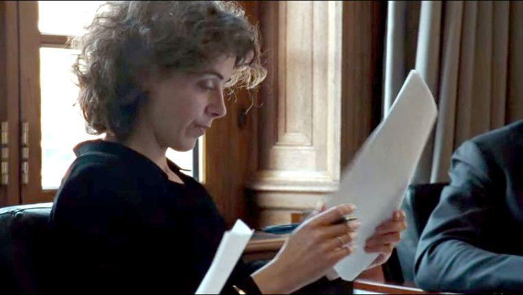 Sophie Hermans, de nieuwe vrouw achter Rutte. Beeld Beeld uit het campagnefilmpje