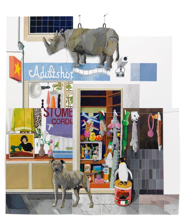 De Hoogstraat deel 3, Adult Shop. Beeld Erik Mattijssen / Tom Haartsen