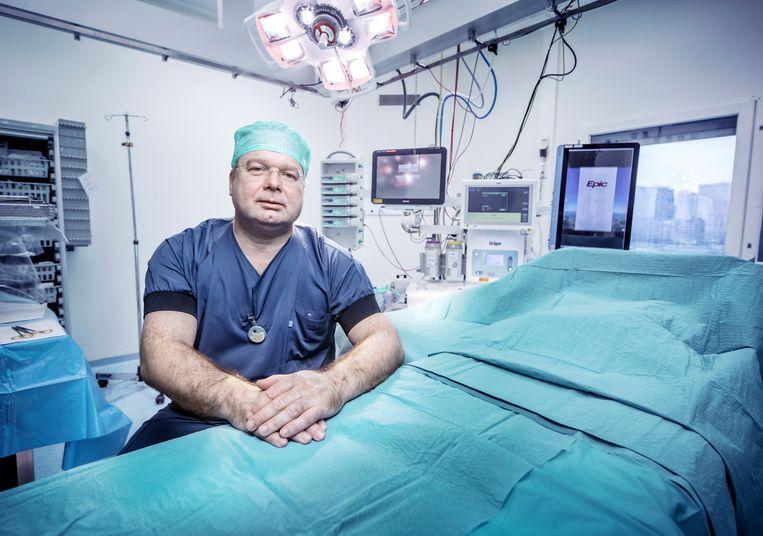 Frank Bloemers, traumachirurg van Amsterdam UMC. Beeld Martin Dijkstra