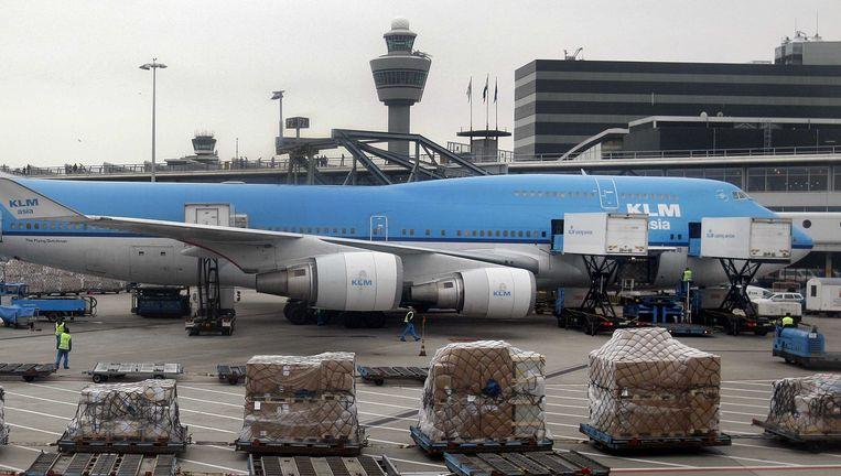 Archiefbeeld: een Boeing 747 van KLM Beeld ANP