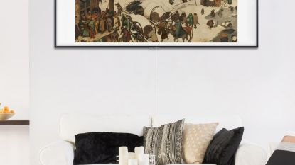 TV wordt kunstwerk: Bruegel, Rubens of van Gogh aan je muur