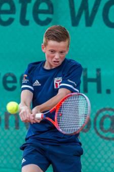 Tennistalent Standaart (15) toont karakter bij Hiaten