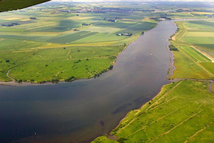 Er komt 10 hectare getijdennatuur bij  dit landschap