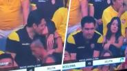 """Hilarische 'Kiss Cam' maakt einde aan relatie overspelige voetbalfan: """"Schade is enorm"""""""