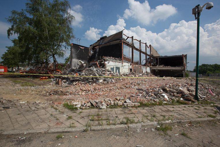Eind vorig jaar brandde een hal van de Corda Campus in Hasselt volledig af.