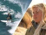 Eveline (19) wil als surfster naar de Olympische Spelen