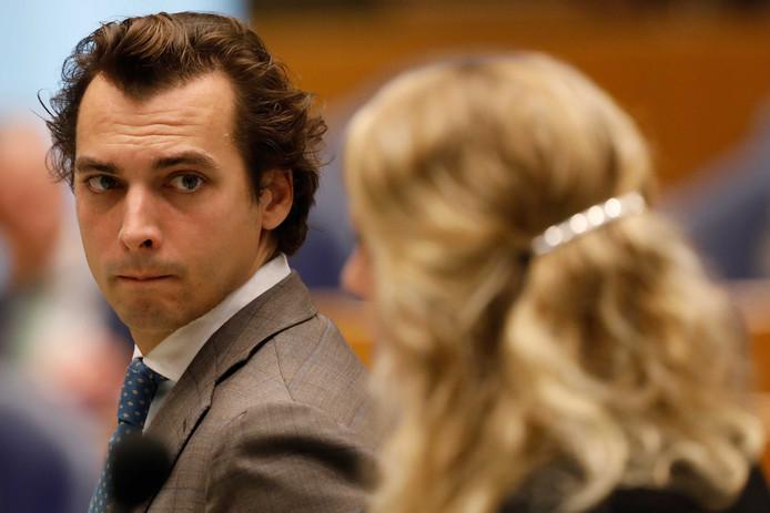 Thierry Baudet (FvD)  is kritisch op het VN-migratiepact.