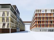 Nieuwe operatiekamers Reinier de Graaf ziekenhuis op dak van garage