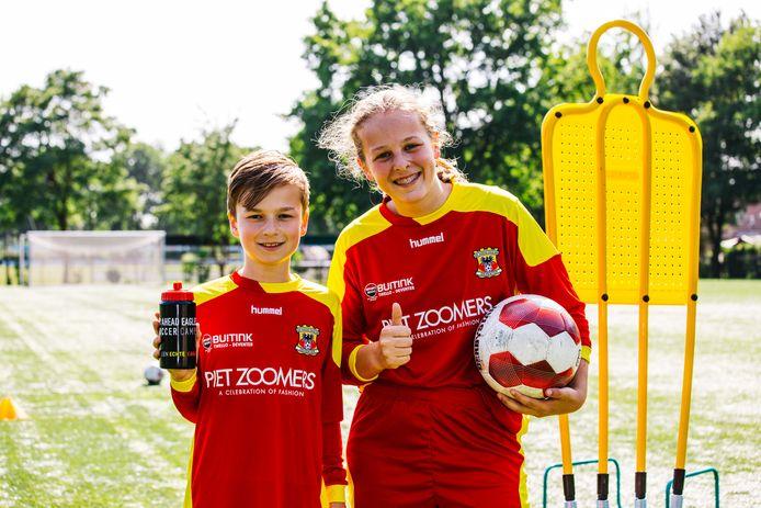 Go Ahead Eagles organiseert in de aankomende zomervakantie vier Go Ahead Eagles Soccer Camps voor kinderen van 6 tot en met 15 jaar