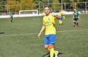 Joey van Beukering, neefje van Jhon met een groot voetbaltalent. Hij maakte een van de vier goals tegen Sprinkhanen (4-1 winst) en bereidt er een voor.