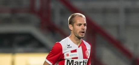 Istvan Bakx scoort voor winnend FC Oss