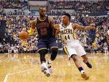 Cavaliers zonder nederlaag naar play-offs NBA