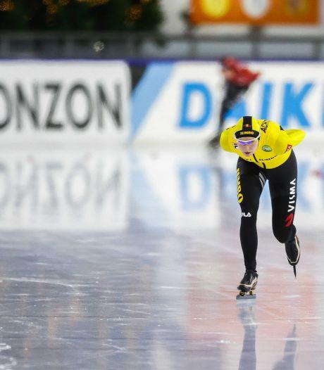 Toch nog een glimlach bij Carlijn Achtereekte op 'beladen' toernooi na WK-ticket op 5000 meter