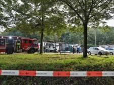 Amfetaminelab aangetroffen op woonwagenkamp in Tilburg-Noord, verdachte aangehouden, andere verdachte op de vlucht