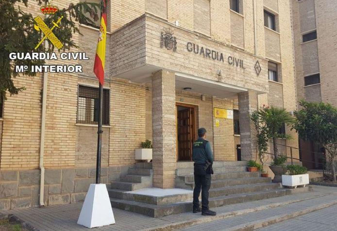 De Guardia Civil in Alcañiz arresteerde Nederlander H.H.M. meteen nadat zijn ex alarm had geslagen over het huurmoordplan. Dat zou eind deze maand worden voltrokken.