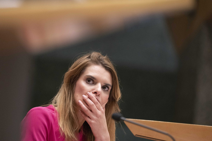 Staatssecretaris Visser (Defensie) roept boze commando's op zich bij haar te melden.