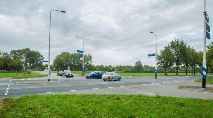 Kruispunt Deense Hoek en Hoofakker in Lieshout