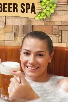 In deze spa kun je straks baden in bier: 'Wonderen hoef je er niet van te verwachten'